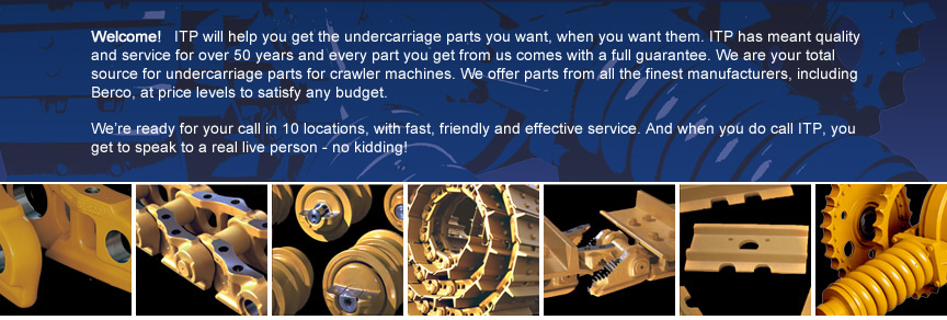 ITP - Industrial Tractor Parts - Undercarriage Parts
